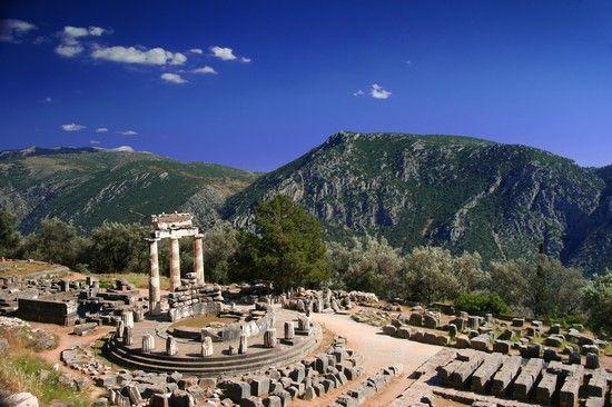 Delfi, Grecia