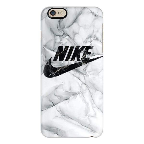 WHITE MARBLE NIKE - iPhone 6s Case,iPhone 6 Case,iPhone 6s Plus... (£30) ❤ liked…