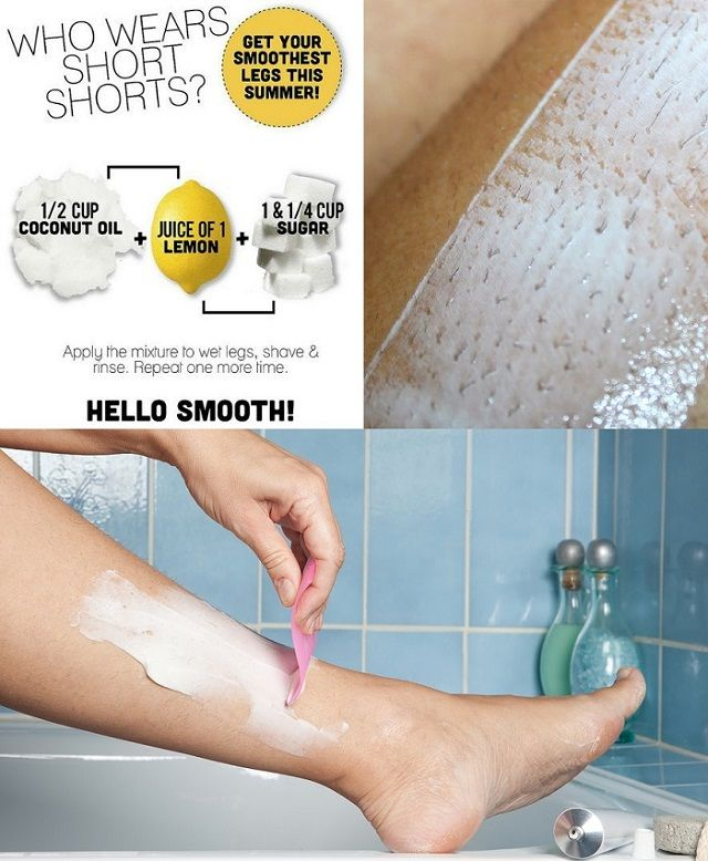 How To Make Smooth and Silky Legs – DIY