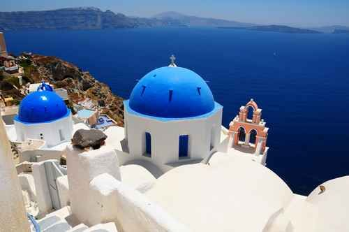 Santorini - one of the most visited islands of Greece