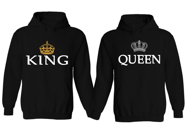 couple hoodie king queen matching his and her hoodies. Black Bedroom Furniture Sets. Home Design Ideas