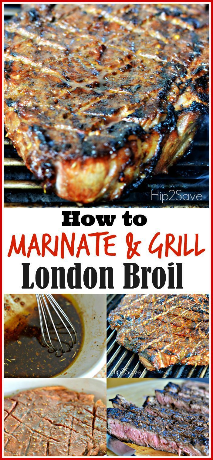 London broil, London and Summer recipes on Pinterest