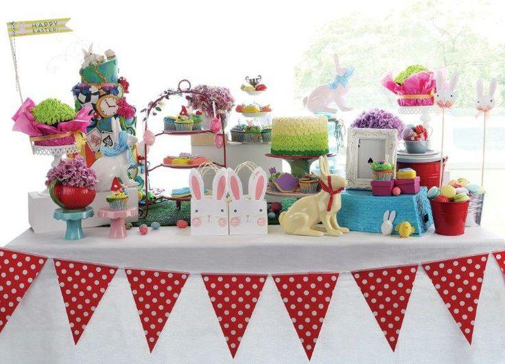 Alice in Wonderland Easter spread - Belle's Patisserie