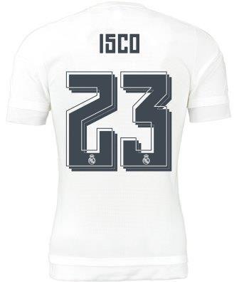 Adidas opta por cambiar la tipografía de las letras y de los números de las camisetas del Real Madrid. ¿Te gusta el modelo escogido?