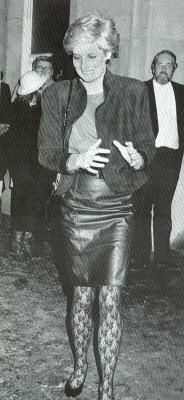1987-01-14 Diana at The Phantom of the Opera Musical in the West End of London