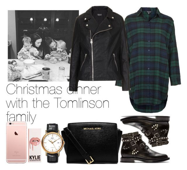 """Christmas dinner with the Tomlinson family"" by iamthequeenbee ❤ liked on Polyvore featuring beauty, Topshop, Yves Saint Laurent and MICHAEL Michael Kors"