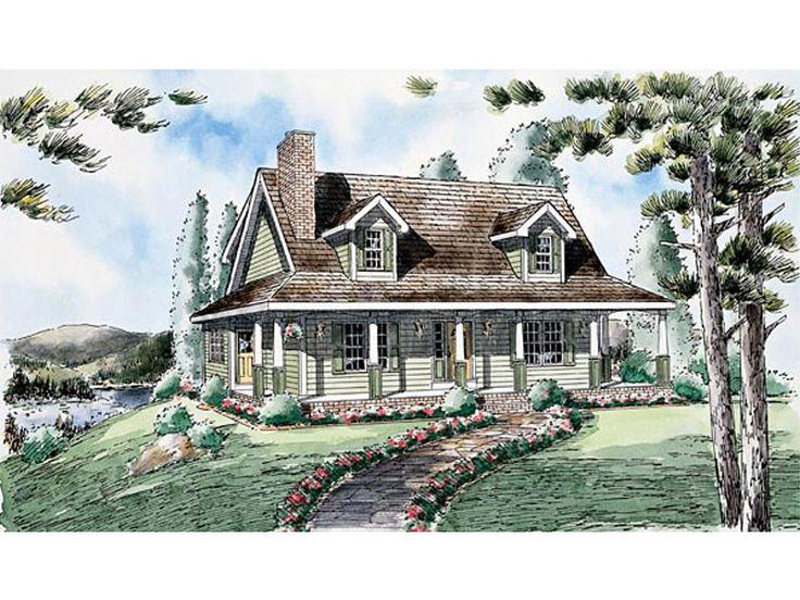 Jordan Hill Cape Cod Style Home