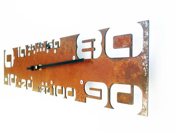 Patio Decor Idea Rustic Thermometer, Unique Thermometer, Modern Thermometer, Home Decor, Outdoor Metal Wall Art, Industrial, Laser Cut, Great Guy Gift
