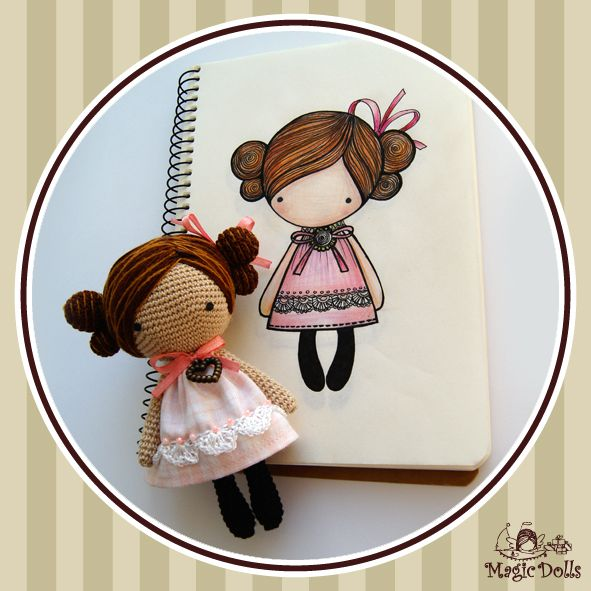 1000+ images about Crochet dolls on Pinterest Doll ...