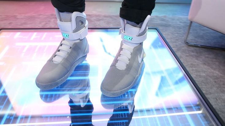 Self-lacing Nike Mags from 'Back to the Future' can be yours     - CNET  First Look: 2016 Nike Mag with Power Laces on feet!  We get to finally try on the self-lacing Nike Mag inspired from Back to the Future II.                                              by Brian Tong  Close  Drag     Where youre going you dont need laces.     The Nike Mags made famous in Back to the Future Part II are now a reality and the sneaker company is raffling off just under 100 pairs of the power-lacing sneakers…