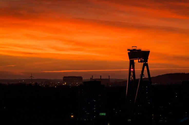 Red Sky over my City by Anders Wester on 500px