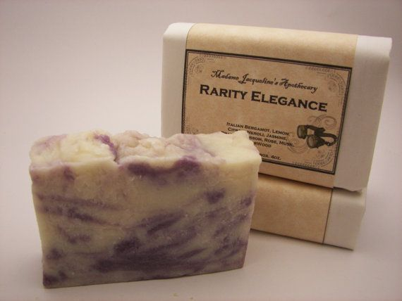 Rarity Elegance, My Little Pony Inspired soap.  DO WANT