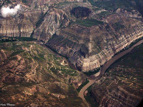 Cañón del Chicamocha en Molagavita
