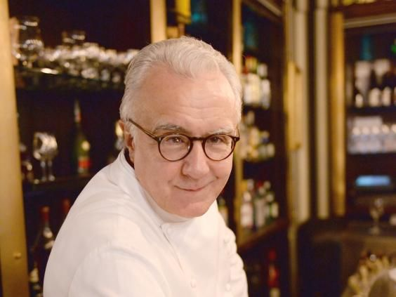 Alain Ducasse is to French cuisine what Ronseal is to fence paint. No  one can really match Alain, he of 18 Michelin stars, and he has removed meat from the menu.