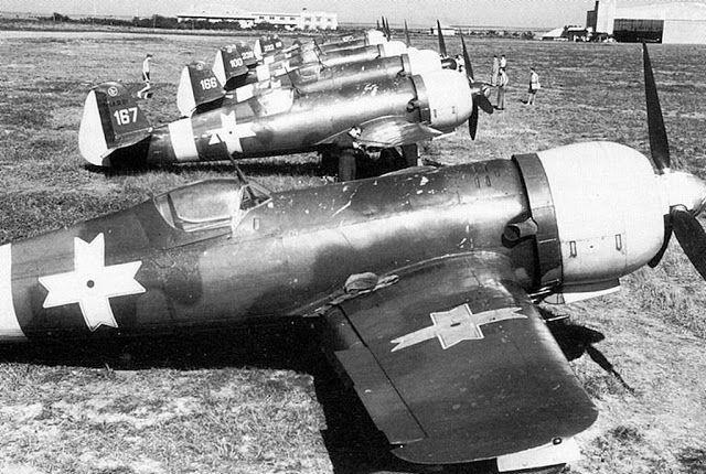 10 February 1941 worldwartwo.filminspector.com IAR-80 Romanian fighters