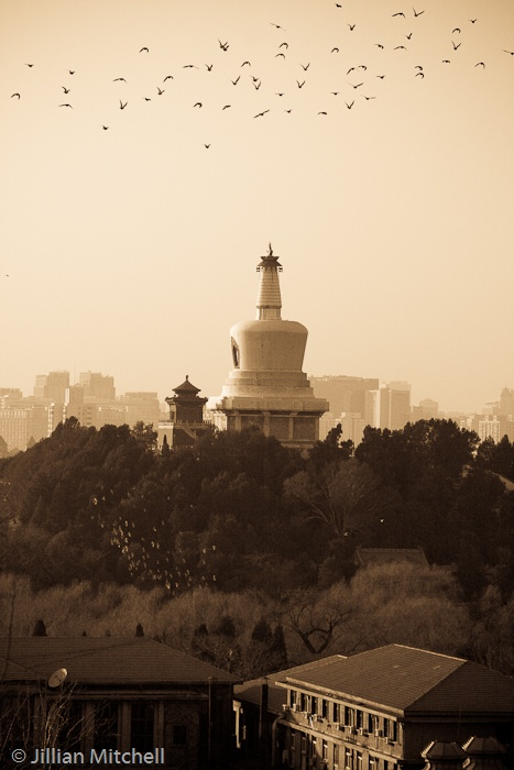 Beijing - Views from Jingshan Park | #Photography: Jillian Mitchell
