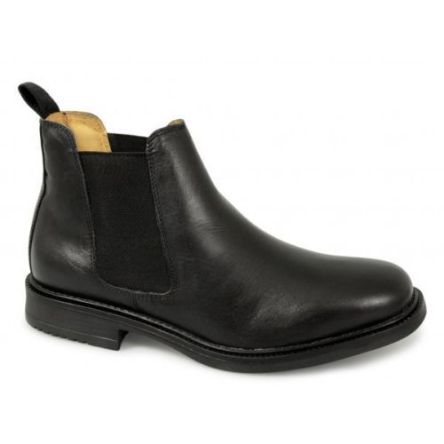Roamers mens twin gusset #padded soft leather chelsea #dealer boots #black new,  View more on the LINK: 	http://www.zeppy.io/product/gb/2/230747524911/