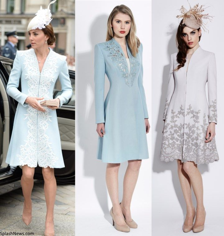 Kate in Catherine Walker for National Service of Thanksgiving for the Queen