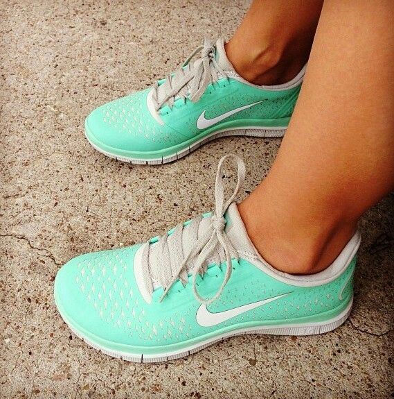 Tiffany blue nikes.