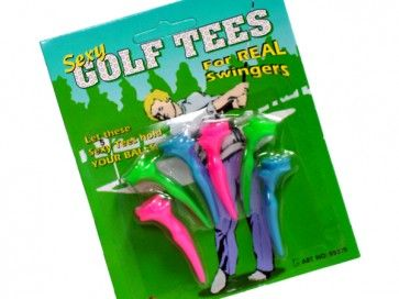 Sexy Golf Tees pack of 6 - $6.95 FREE SHIPPING
