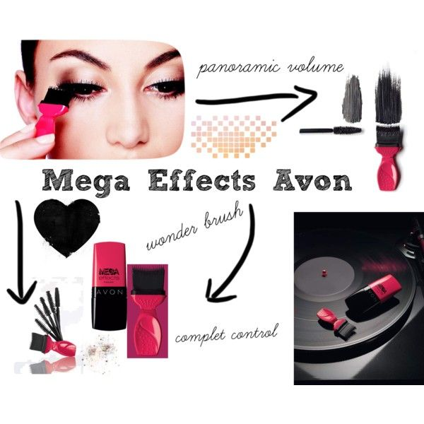 """""""New #MegaEffects Avon"""" by raquel-lacasa on Polyvore"""