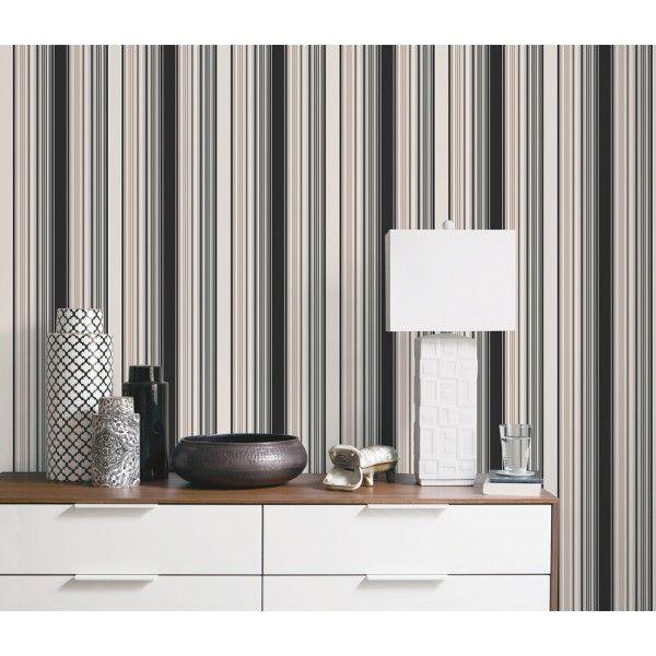les 25 meilleures id es de la cat gorie papier peint rayures sur pinterest papier peint. Black Bedroom Furniture Sets. Home Design Ideas