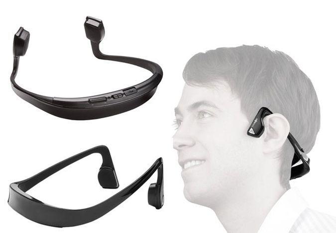 Bluetooth Headphones, AfterShokz Bluez 2 With Bone Conduction technology