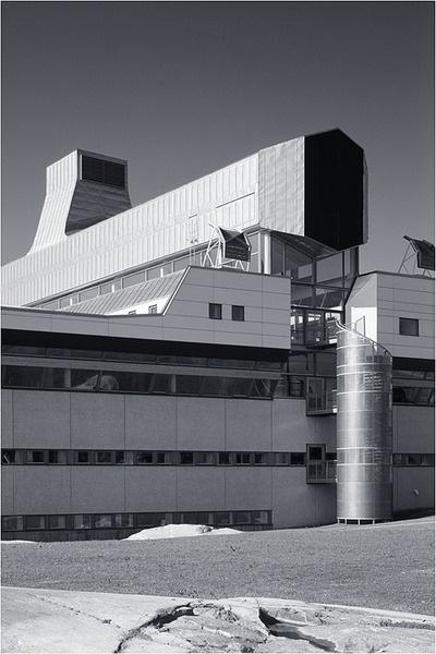 The Stockholm University Library Ralph Erskine Photo via JeremyRambles