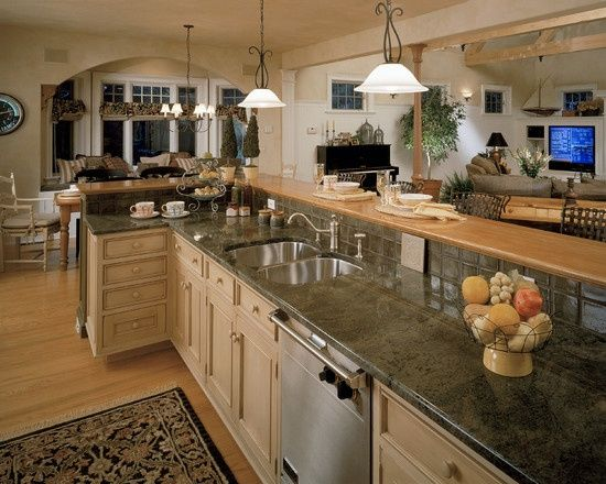 open kitchen and living room floor plans search