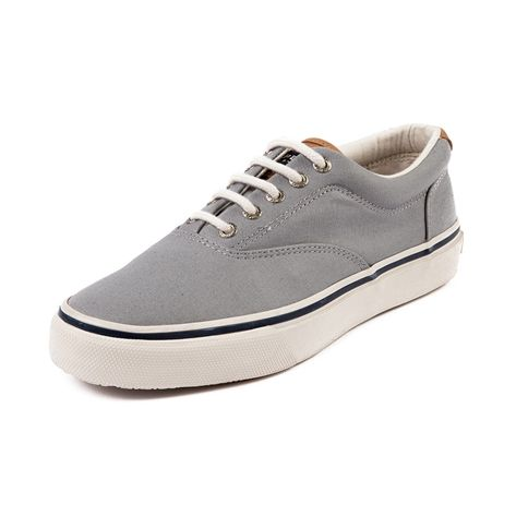 Shop for Mens Sperry Top-Sider Striper Casual Shoe in Gray at Journeys Shoes.