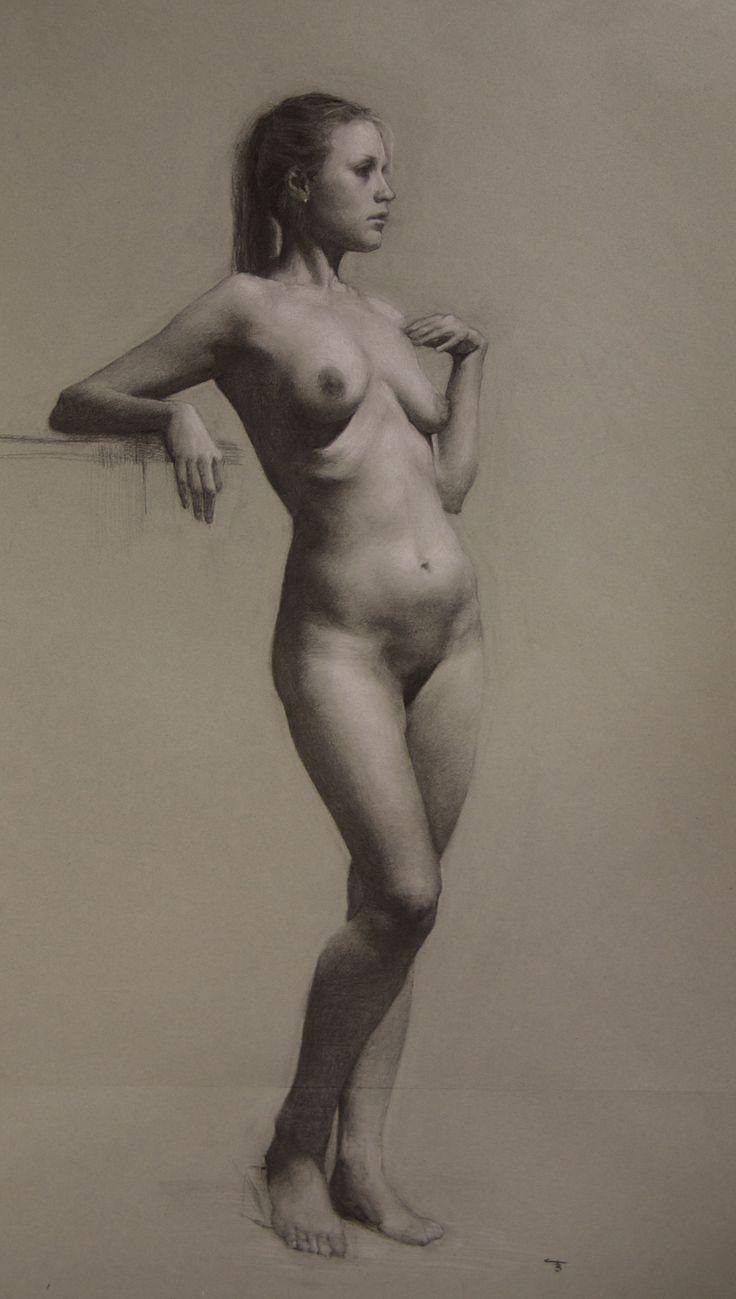 326 Best Nude Drawings Images On Pinterest  Art Drawings -8490