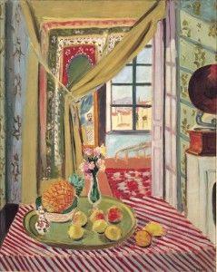 Henri Matisse, Intérieur au phonographe, 1934, Olio su tela, 100,5 x 80 cm, © Succesion H. Matisse by SIAE 2012