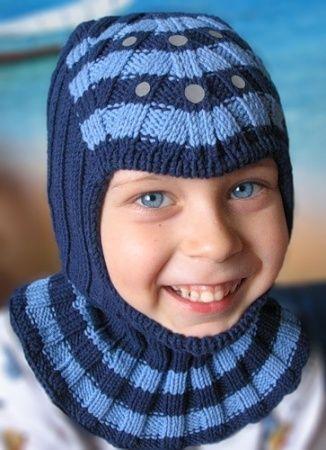 Шапка шлем для мальчика. Руководство к действию