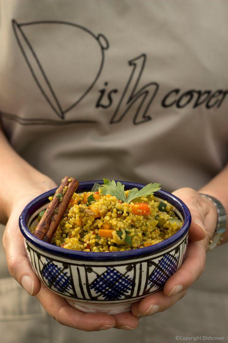 Dishcover: Couscous met groenten