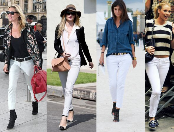 17 Best images about White Jeans on Pinterest | White skinnies ...