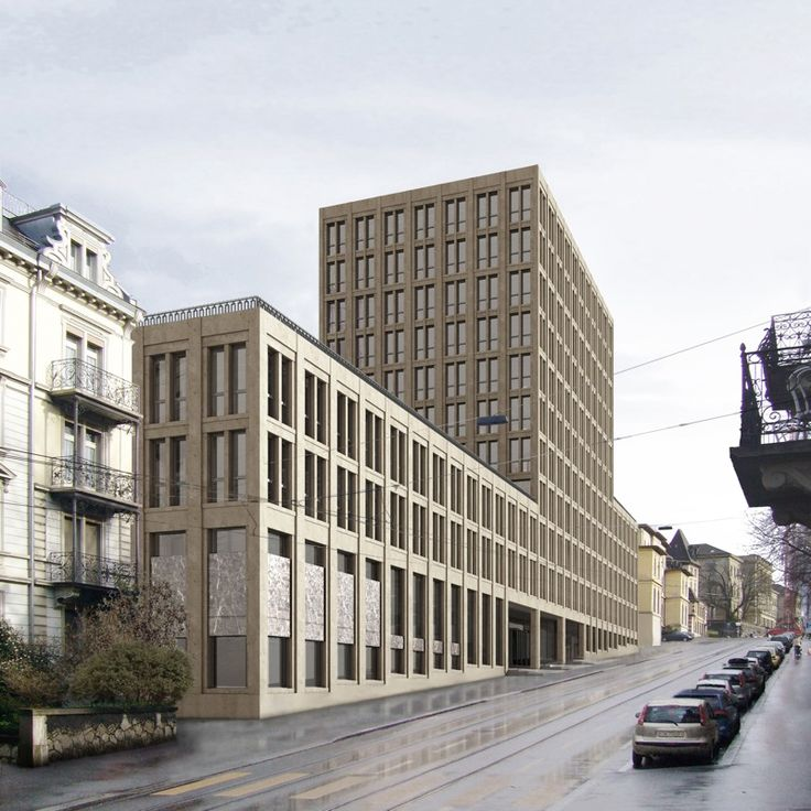 """Fawad Kazi diplomierte 1999 bei Kollhoff. Sein Neubau für die ETH Zürich (2009-2013) erzeugt einen städtischen Strassenraum an der Leonhardsstrasse. Der Entwurf führte zu einer """"intensiven Reflexion der Studienzeit bei Hans Kollhoff"""", sagt Kazi."""