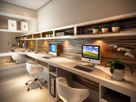 Perfil by Plano&Plano - Home Office   http://planoeplano.com.br/imovel/perfil-by-planoplano