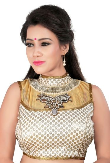 Beautiful Designer Handwork Blouse By Indian Vogue