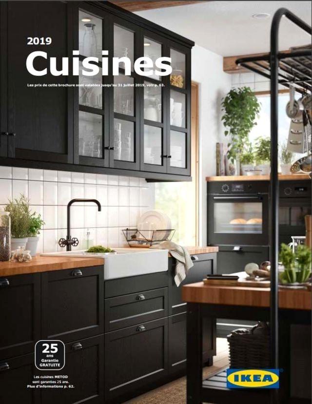 cuisine moderne cuisine ikea noire