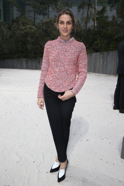 Gaia Repossi - Chanel S/S 2013 Haute-Couture show @ Paris Fashion Week @ Grand Palais in Paris. (January 2013)