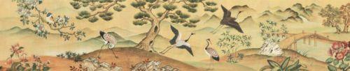 Asian Oriental Garden Landscape Mural Style Prepasted Wallpaper Wall Border | eBay