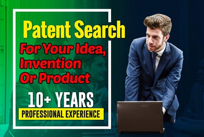 Pro Usa I Will Do A Patent Search For Your Idea Invention Or Product For 35 On Fiverr Com In 2021 Patent Search Inventions Non Disclosure Agreement