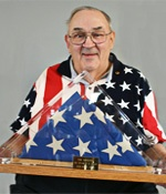 Bob Heft remembers designing the 50 star U.S. flag as a high school student in 1958. At the time there were only 48 states in the Union.
