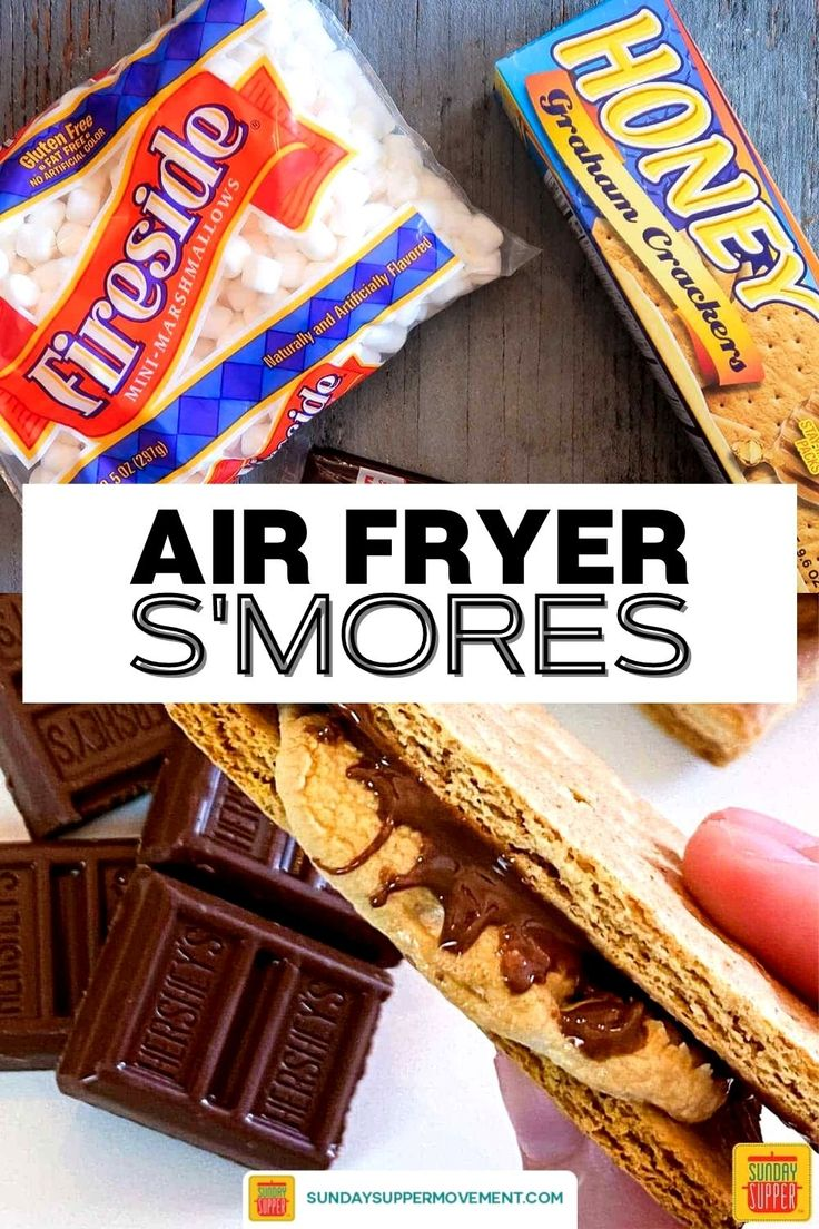 Air Fryer S'mores Recipe Sunday Supper Movement Recipe