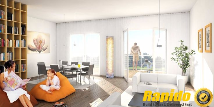 Make your dream flat modern with #RapidoKitchens visit Today  http://rapidokitchen.com/