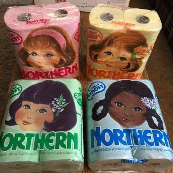 Colored toilet paper. | Growing up in the 60's and 70's ...