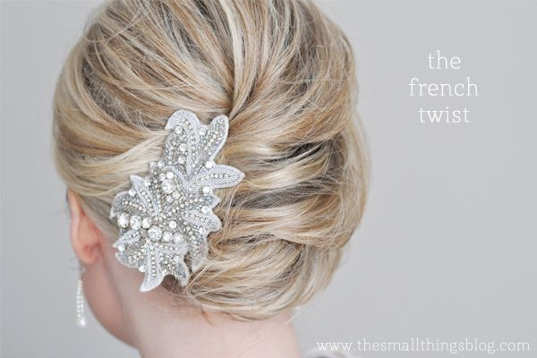 Easy French Twist Tutorial!