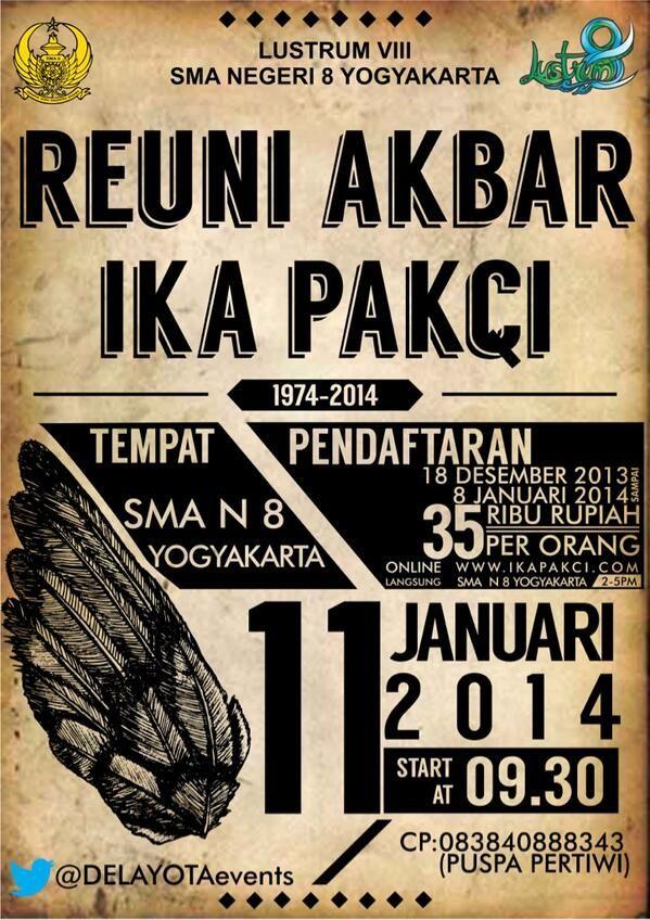 Reuni Akbar SMAN 8 Yogyakarta