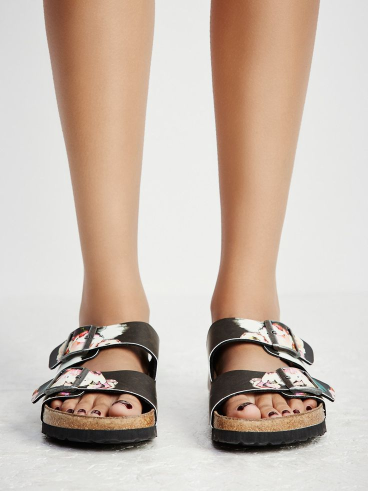 Papillio by Birkenstock Arizona Floral Birkenstock at Free People Clothing Boutique