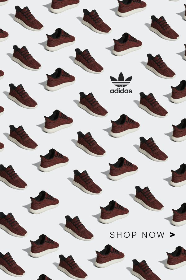 """For a new take on streetwear style, shop the adidas Originals Tubular Shadow Shoes. These shoes bring a sleek leather-look build to the Tubular series. Their upper pops with 3D texture and a bold diamond pattern. A """"burrito"""" tongue provides a snug fit, completing this unforgettable look. Create your own future today."""